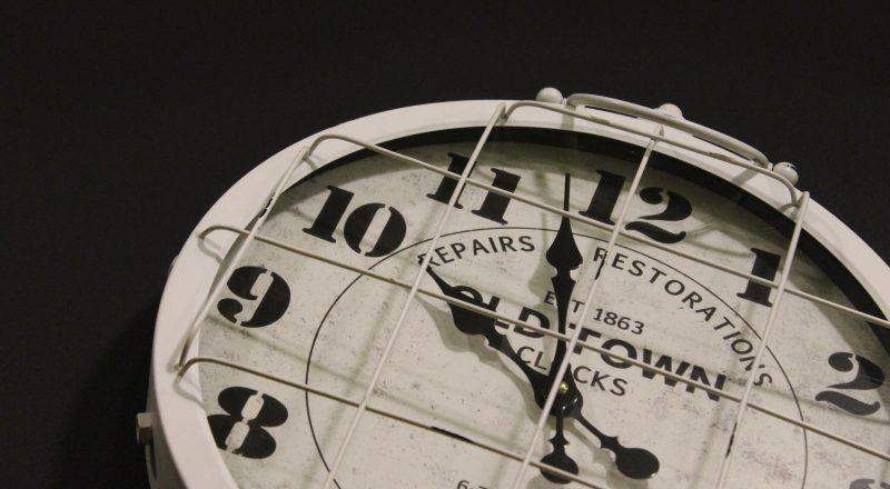 Grammar Past Tense Timepiece